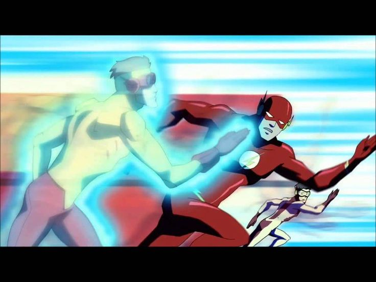 ((SPOILERS!!!!)) Young Justice: Season 2 Finale Clip: Kid Flash/ I'm total feeling the mode