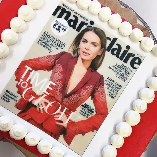 Vandaag ligt én ons nieuwe nummer in de winkel én is covermodel @hannaverboom jarig. Gefeliciteerd Hanna! Time for cake  via MARIE CLAIRE NL MAGAZINE MAGAZINE OFFICIAL INSTAGRAM - Celebrity  Fashion  Haute Couture  Advertising  Culture  Beauty  Editorial Photography  Magazine Covers  Supermodels  Runway Models
