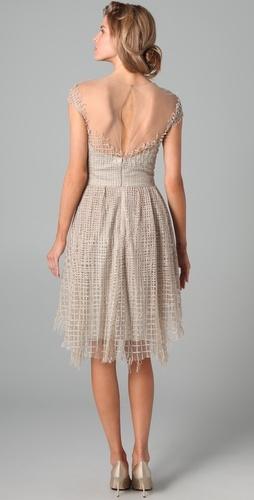 Lela Rose dress from Revenge
