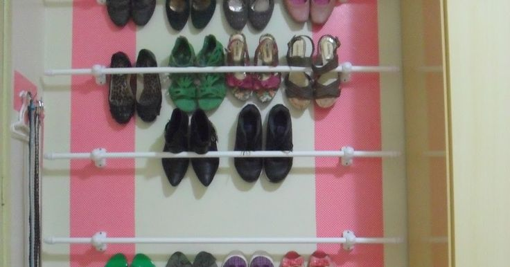 Sapateira de Parede    Projeto Sapatos Organizados!!!  Sapateira de Parede   Enfim, depois de tanto pensar, consegui colocar em prática ...