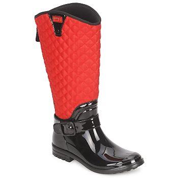Llueve,llueve, es tiempo de utilizar tus botas de agua muy a la moda firmada por KAMIK ! La marca te propone este modelo llamado Alexandra, un verdadero must have de esta temporada. Para seguir la moda, la marca opta por un corte en textil de color rojo. Altura del corte 34 cm, y contorno de la pantorrilla en 41 cm. #kamik #botasagua #atrevete #spartoo #botas #otoño   http://www.spartoo.es/KAMIK-ALEXANDRA-x108405.php