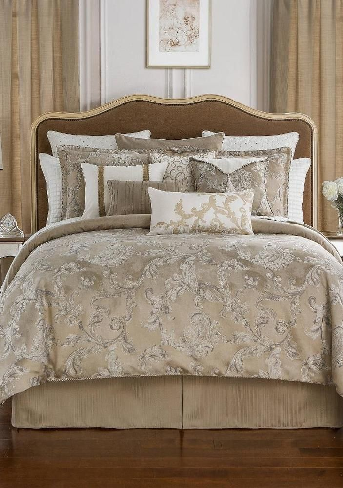Waterford Chantelle West Coast California King TAUPE 4 Piece