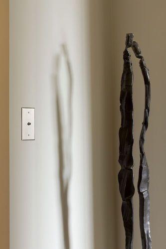 Interrupteur poussoir contemporain en nickel INOX LINE - 70*120 6ixtes PARIS