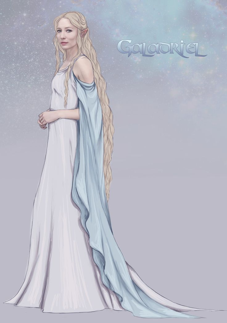 "Galadriel sketch by Tryaki-chan.deviantart.com on @DeviantArt - From ""Lord of the Rings"""