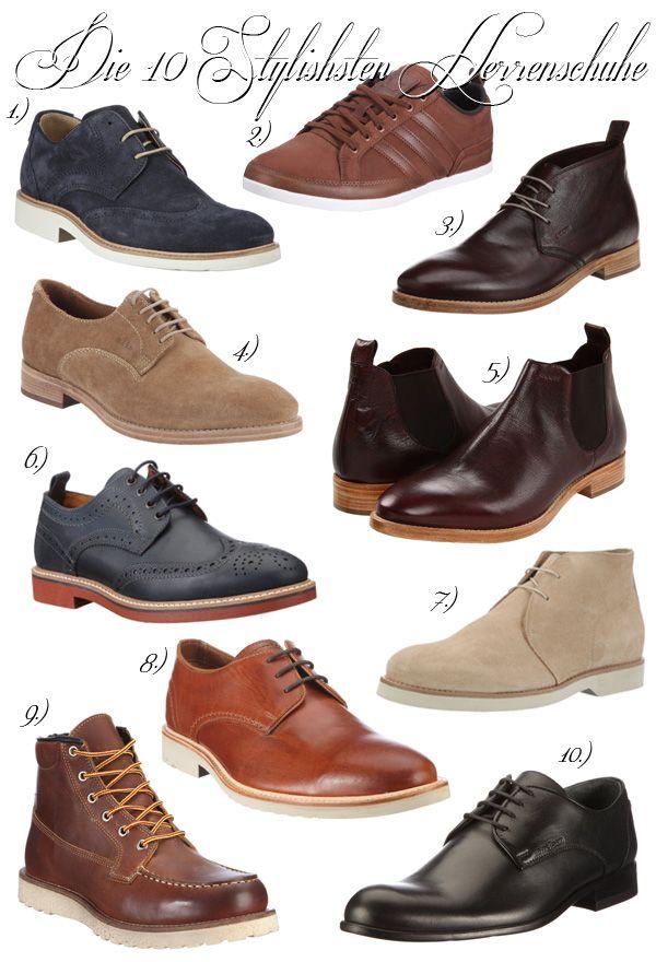 Mode für Männer - { Die 10 Stylishsten Herrenschuhe ... unter €200 }