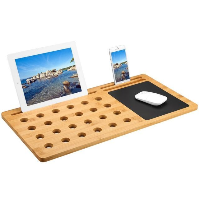 New Products 2019 Bamboo Laptop Bed Tray View Bamboo Laptop Bed Tray Oem Product Details From Xiamen Refined Bam Trading Desk Tray Lap Desk Leather Mouse Pad