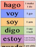 """Six 11x17"""" full-color, glossy posters on 100# stock. Set includes top 12 Spanish verbs conjugated in the I, S/he, and We forms in the past tense that is most frequently occurring for each particular verb.  You've never seen verb posters like this before!  Speaking naturally, in all tenses, from the very first day is a tenet of"""