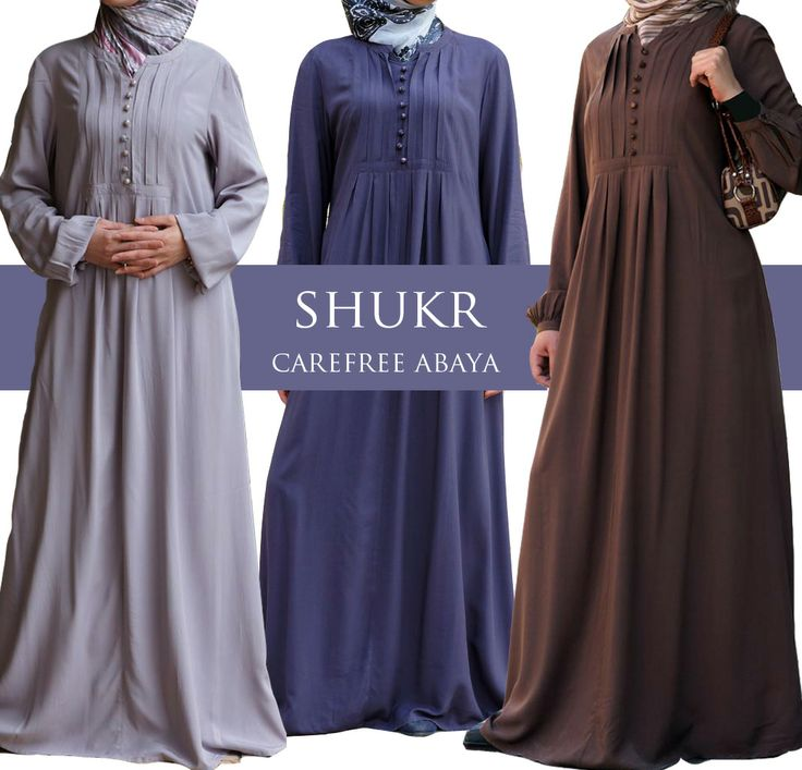 Back soon due to popular demand - SHUKR's Carefree Abaya Dress. Watch out for this one, it's sure to sell out fast!  Shop Here: US: http://shukronline.com/wd1661.html UK: http://www.shukr.co.uk/Carefree-Rayon-Abaya-Dress-P8187C134.aspx