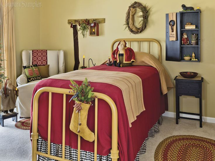 Country Sampler Christmas Decorating Ideas : Best images about country sampler magazine on