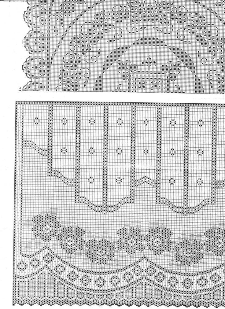 Gardine h?keln - crochet curtain - http://www.liveinternet.ru/users/sama_lubov/post267814619/