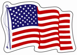 10 FREE American Flag Decals on http://hunt4freebies.com