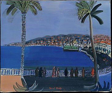 Crépuscule sur la Baie des Anges, Raoul Dufy 1932