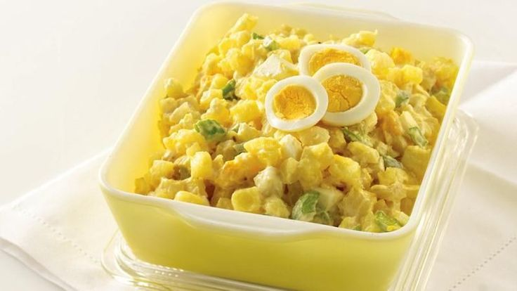 Frozen hash browns are the key to this convenient recipe. No picnic is complete without potato salad!