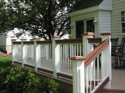 Best 25 Deck Railing Design Ideas On Pinterest Deck
