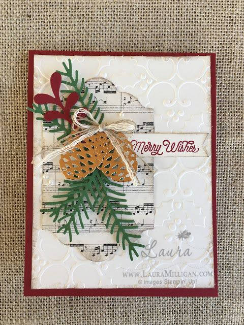 "Laura Milligan, Stampin' Up! Demonstrator - I'd Rather ""Bee"" Stampin!: Stamper's Dozen Blog Hop - Happy Holidays"