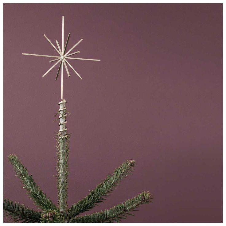 Twinkle, Twinkle Little Star....Wil je een design piek in de vorm van een ster? Dan is de #Ferm #Living #Brass #Christmas #Tree #Top #Star de ultieme topper voor in de boom! | MisterDesign