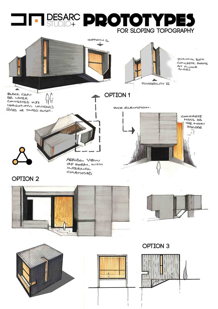 41 best sketch images on pinterest architecture drawings for Architectural concepts types