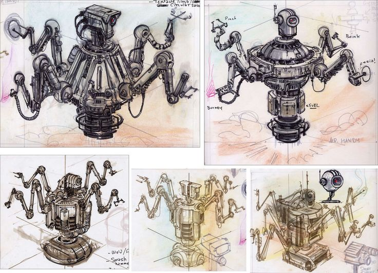 Fallout 3 Robots And Computers Concept Art Fallout Art