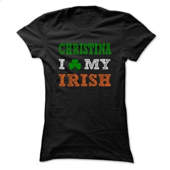 CHRISTINA STPATRICK DAY - 0399 Cool Name Shirt ! - #sweatshirts for women #long sleeve shirt. BUY NOW => https://www.sunfrog.com/LifeStyle/CHRISTINA-STPATRICK-DAY--0399-Cool-Name-Shirt-.html?60505