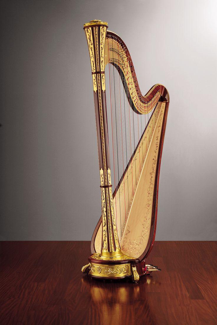 156 best pedal harp images on pinterest