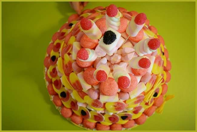 Le più belle torte di caramelle gommose - Torta di caramelle gommose e Marshmallow