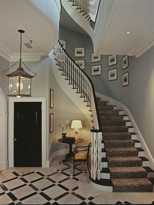 Gorgeous Entry, Flooring, Staircase, etc. by phoebe howard