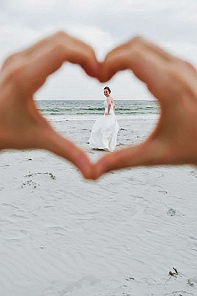 Maillot de bain : 18 Most Pinned Heart Wedding Photos ❤ We propose you to take a look on heart w…