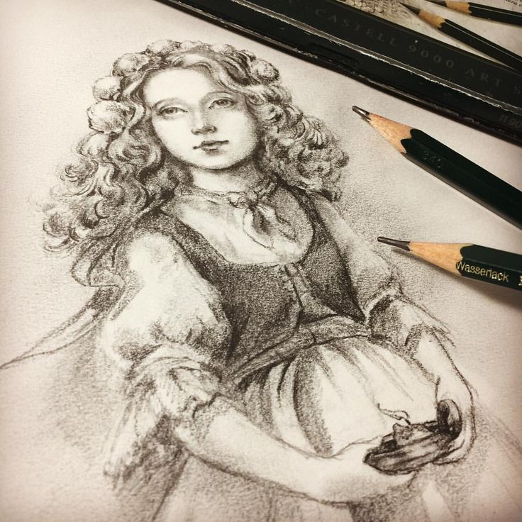 "Eeva Nikunen (@eevanikunen) on Instagram: ""Sketching an idea for a painting that is supposed to be of a young girl, I'm a bit out of my…"""