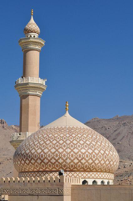 Jama (Friday mosque) in Nizwa, Oman