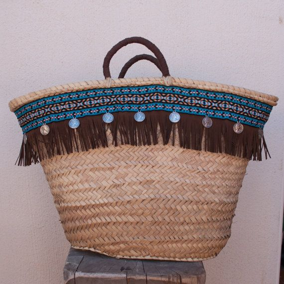 Las 25 mejores ideas sobre cesta de playa en pinterest - Cestos de palma ...