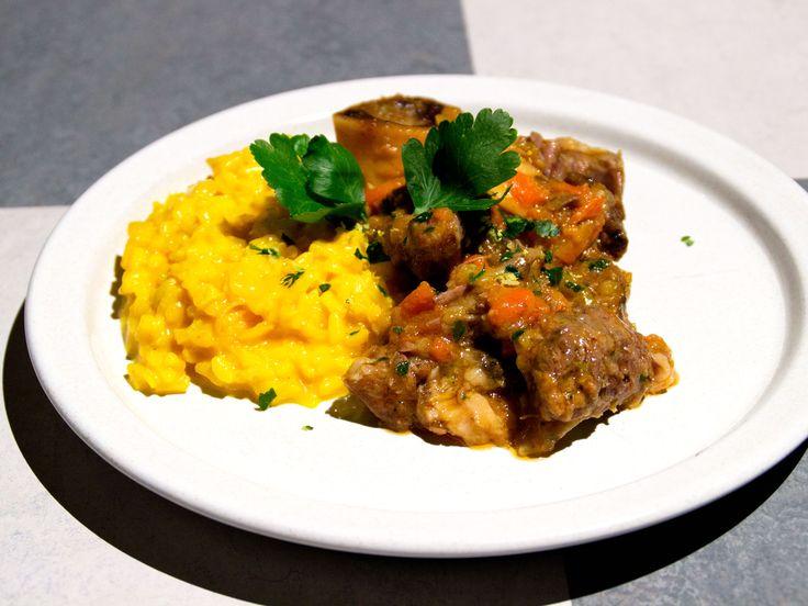 Osso bucco med risotto alla milanese | Recept från Köket.se