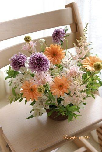 【今日のLove letter】アレンジ定期便もあります | Flower noteの フラワーギフト&レッスン(横浜・上大岡)