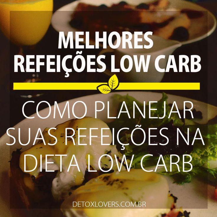 PLANEJAMENTO LOW CARB | Detox Lovers Saiba planejar suas refeições e tirar o melhor da dieta low carb