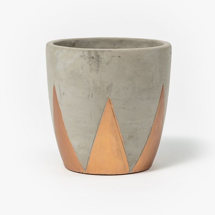 Copper Spike Pot - www.koop.co.nz