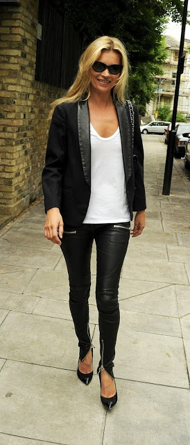 Kate Moss Style #classic in every way!