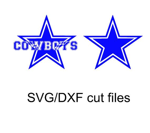 Dallas Cowboys Logo Star Svg And Dxf Cut File By