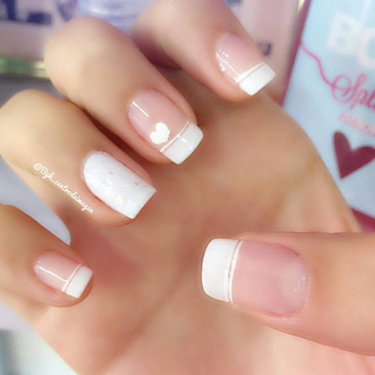 Sweet French Manicure