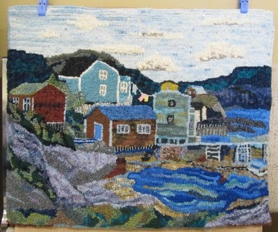 Coastal sceneArt Things, Inspiration Rugs, Coastal Scene Repin, Eye Rugs, Scene Repin By Pinterest, Fish Eye, Hands Hooks, Hooks Rugs, Hooks Ideas