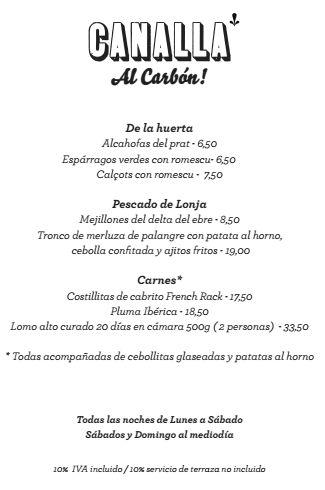 """""""Canalla al carbón"""" Sabores auténticos a la #brasa #ElCanalla #Restaurante #Sarrià"""