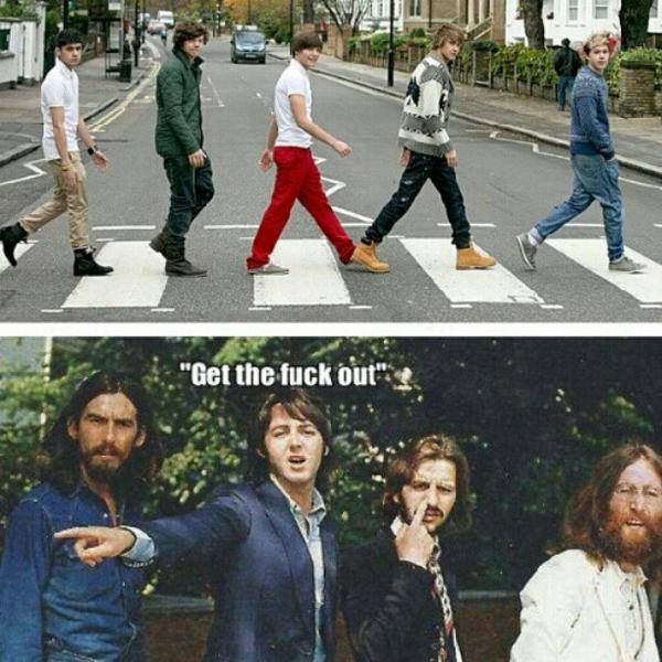 I love 1D but no one ever will be able to be better an The Beatles ever!!!! The are revolutionary and amazing!! The Beatles will forever be the best!!