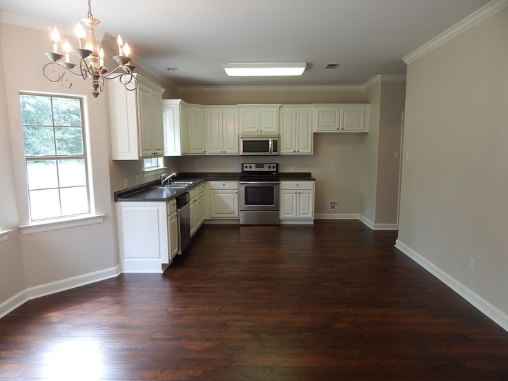 48 best home remodels images on pinterest for Best white paint for kitchen cabinets behr