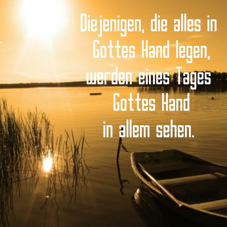 Gottes Hand in allem ✋!!!