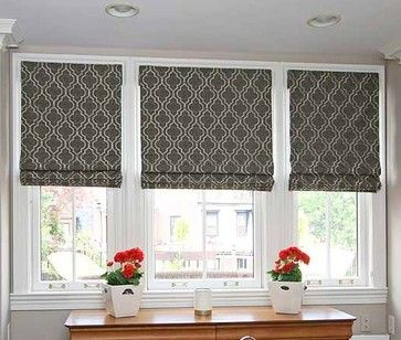 To have in your home - contemporary - Roman Shades - Boston - Andrea Press, a Smith & Noble In-Home Designer