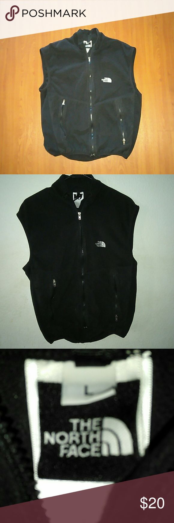 The North Face Fleece Vest Large . North Face Jackets & Coats