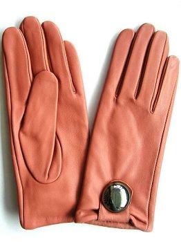 Sheep Leather Gloves For Womens