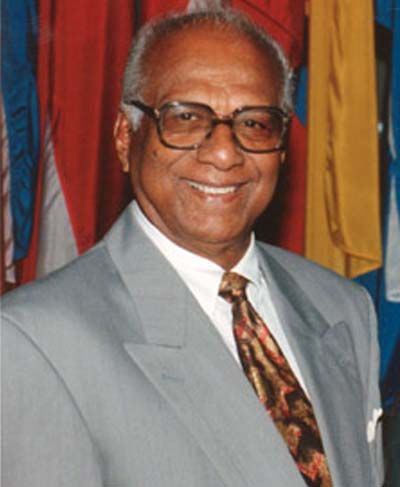 """Cheddi Bharat Jagan, born March 22, 1918, died March 6, 1997, became a Guyanese politician who was first elected Chief Minister in 1953 and later Premier of British Guiana from 1961 to 1964, prior to independence. He later served as President of Guyana from 1992 to 1997. He is widely regarded in Guyana as the """"Father of the Nation""""."""