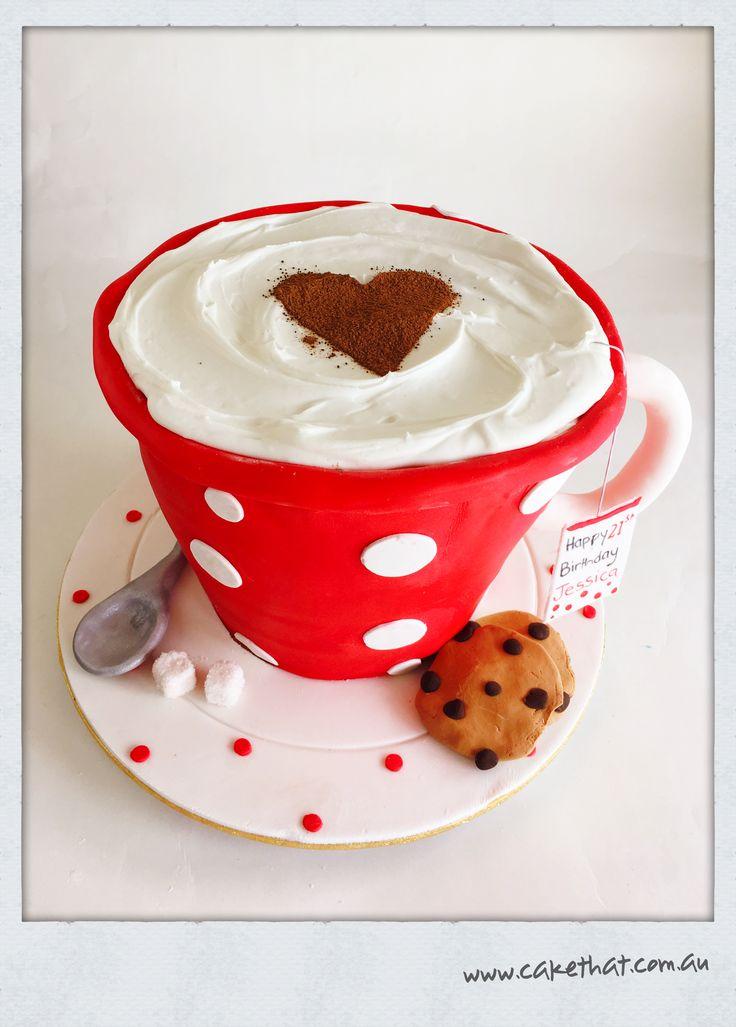 Mug cake. Cup cake. Teacup cake