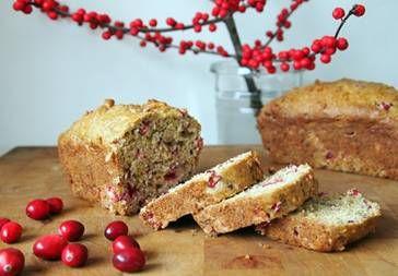 Pear & Cranberry Loaf Recipe