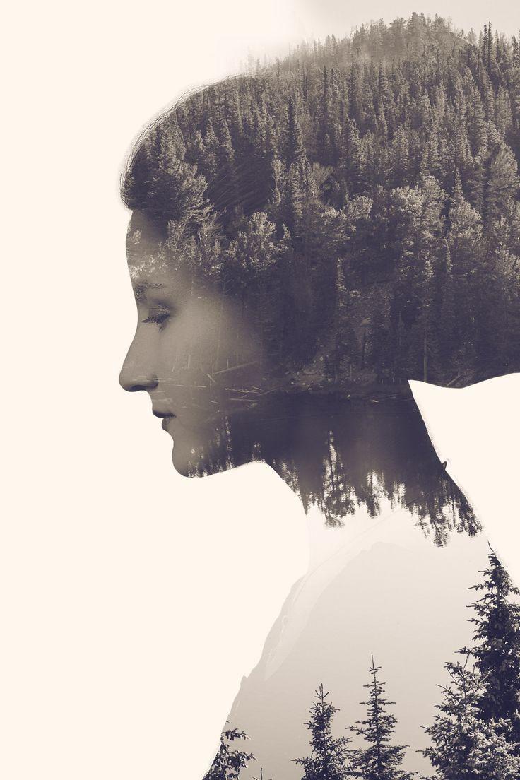 В этом уроке Вы узнаете, как создать сюрреалистичный портрет, создав эффект двойной экспозиции.