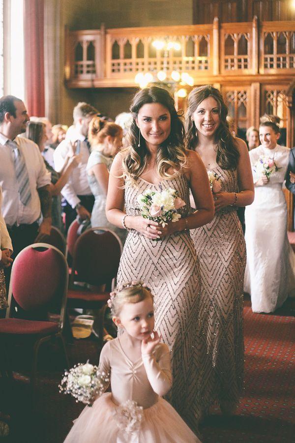 vintage sequined bridesmaid dresses